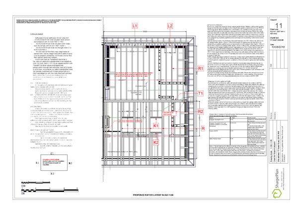 structural layout